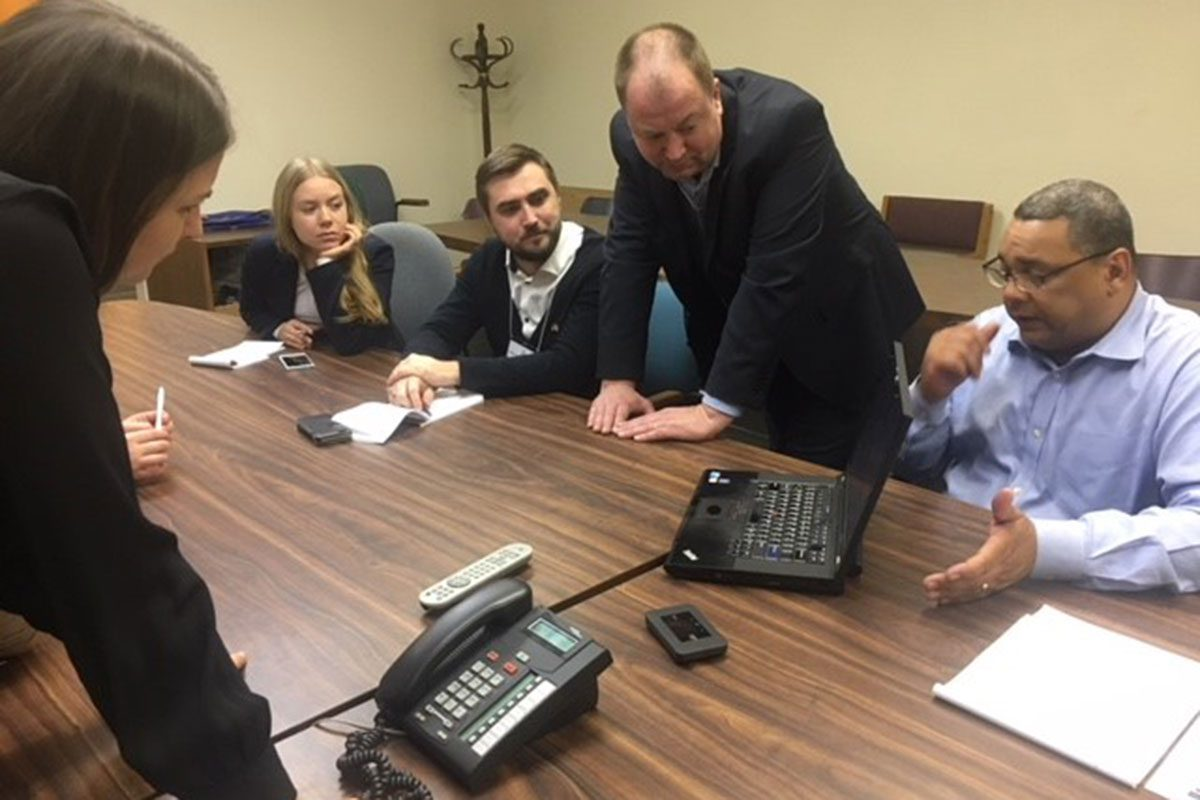 Trafficking in Persons: Rehabilitation, IVLP Delegation from Estonia