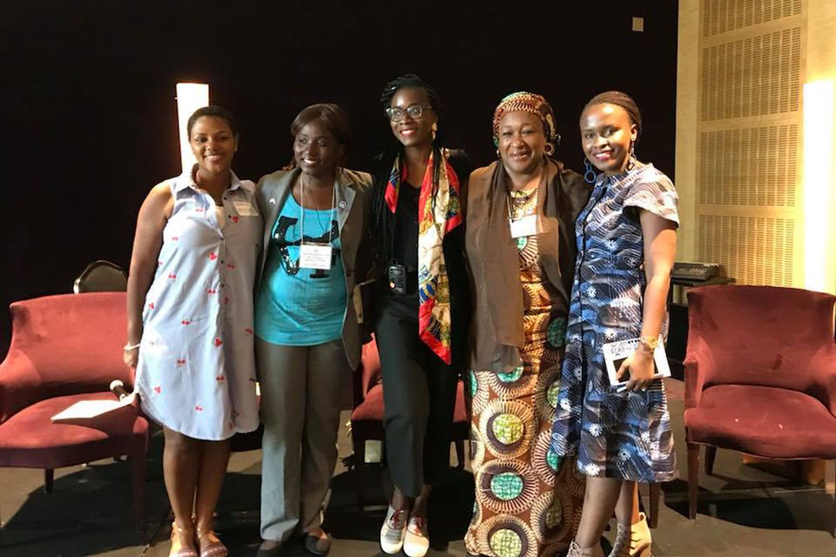IVLP African Women's Entrepreneurship Program with Appreccia Faulkner of GSA in 2018