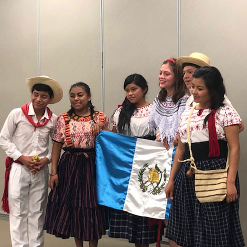 Youth Ambassadors Program from Central and South America January 2019